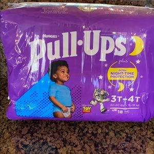 Huggies Toy Story Pull Ups  3T-4T NWT